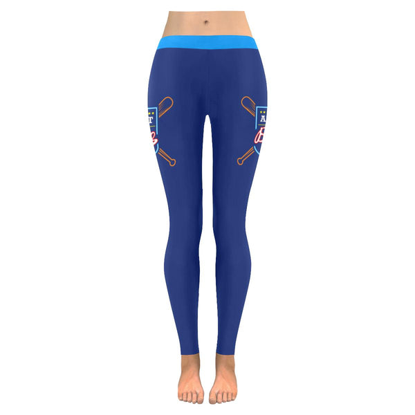 All About That Base Funny Unique Cool Awesome Baseball Gift Idea Womens Leggings-NeatFind.net