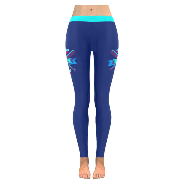 All Women Are Created Equal But Only Finest Become Baseball Moms Womens Leggings-NeatFind.net