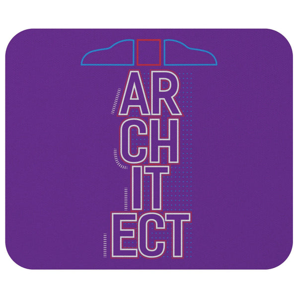 Architect T-Square Cool Unique Funny Architecture Students Gift Ideas Mouse Pad-NeatFind.net