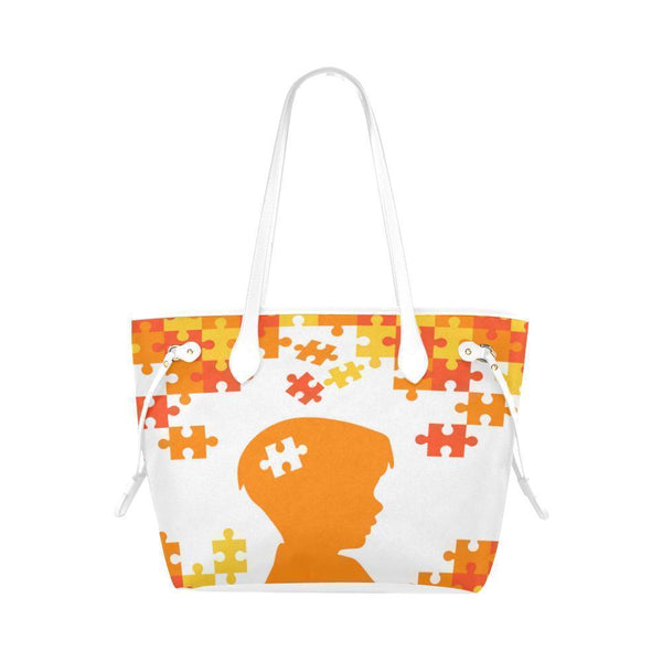 Autism Awareness #1 Water Resistant Canvas Tote Bags (4 colors)-NeatFind.net
