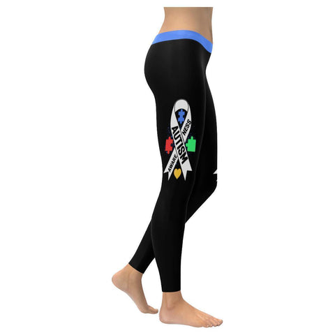 Autism Awareness Gift Products Merchandise Special Need Teacher Womens Leggings-NeatFind.net