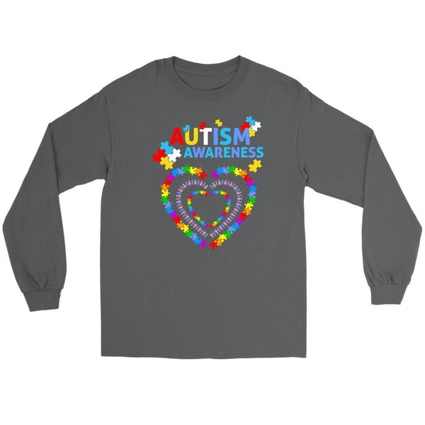Autism Awareness Products Gifts Ideas Unique Teacher Merchandise Long Sleeve Tee-NeatFind.net