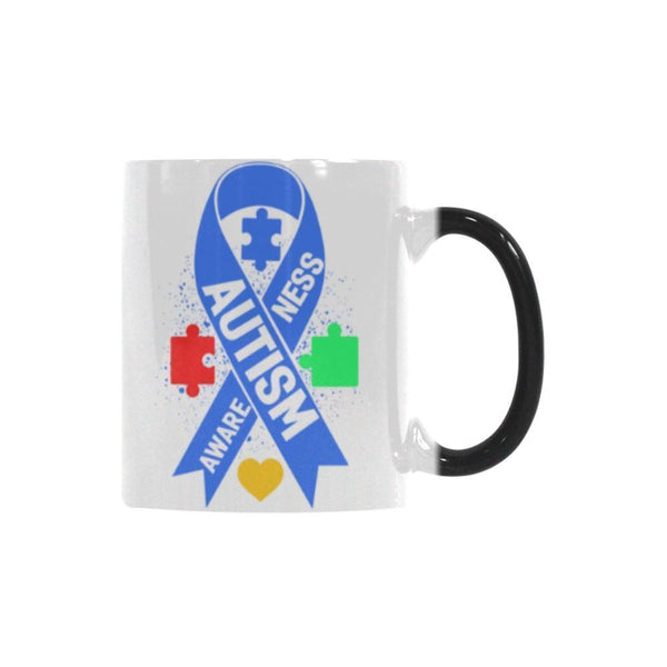 Autism Awareness V2 Color Changing/Morphing 11oz Coffee Mug-NeatFind.net
