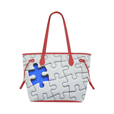 Autism Awareness Water Resistant Canvas Tote Bags (4 colors)-NeatFind.net