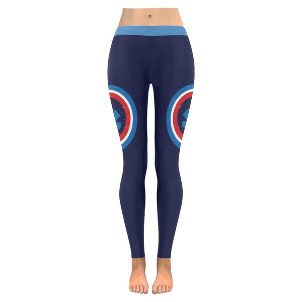 Awesome Captain America Shield Autism Awareness Products Gift Womens Leggings-NeatFind.net