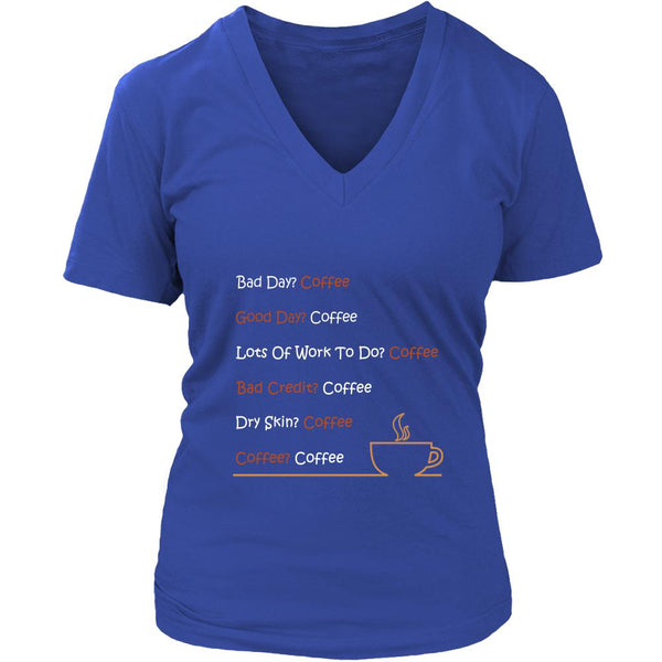 Bad Day Coffee T-Shirt For Men & Women-NeatFind.net