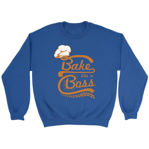 Bake Like A Boss Funny Gifts Ideas For Bakers Baking Super Soft & Comfy Sweater-NeatFind.net
