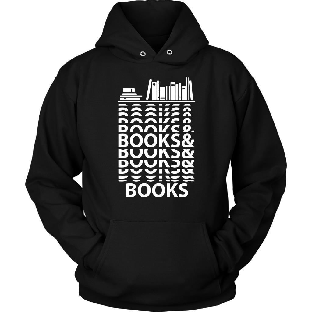 Books & Books Bibliophile Bookworms Book Lovers Avid Readers Gift Ideas Hoodie-NeatFind.net