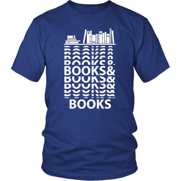 Books & Books Bibliophile Bookworms Book Lovers Avid Readers Gift Ideas TShirt-NeatFind.net