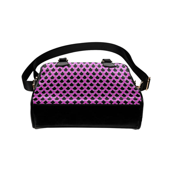 Breast Cancer Pink Ribbon #1 Shoulder Handbag For Women-NeatFind.net