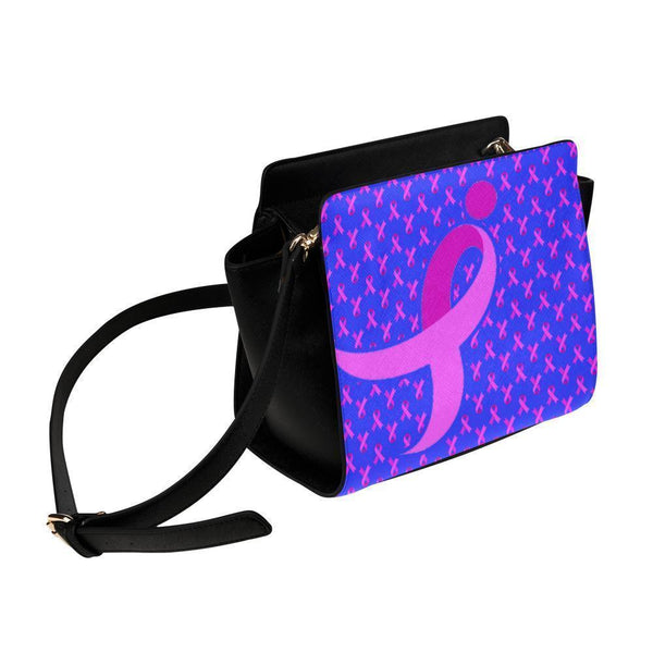 Breast Cancer Pink Ribbon #10 Satchel Bag-NeatFind.net