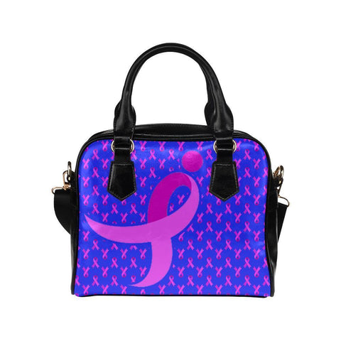 Breast Cancer Pink Ribbon #10 Shoulder Handbag For Women-NeatFind.net