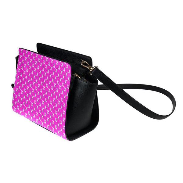 Breast Cancer Pink Ribbon #2 Satchel Bag For Women-NeatFind.net