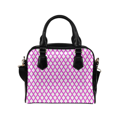 Breast Cancer Pink Ribbon #3 Shoulder Handbag For Women-NeatFind.net