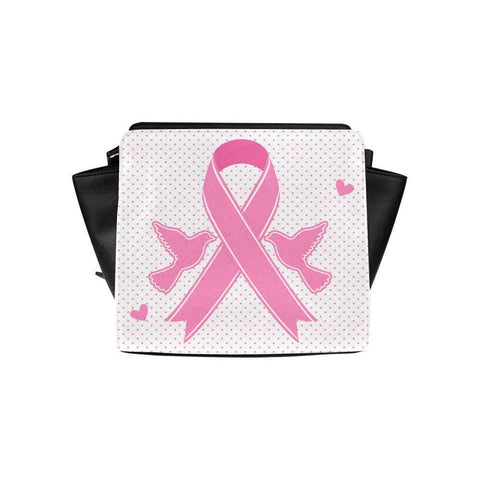 Breast Cancer Pink Ribbon #4 Satchel Bag For Women-NeatFind.net