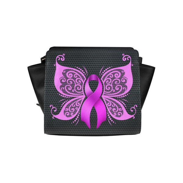 Breast Cancer Pink Ribbon #5 Satchel Bag For Women-NeatFind.net