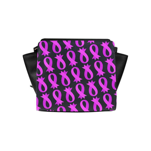 Breast Cancer Pink Ribbon #7 Satchel Bag For Women-NeatFind.net