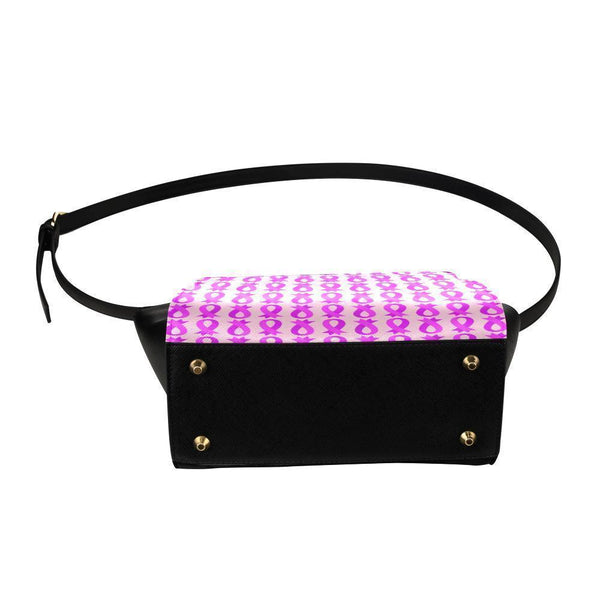 Breast Cancer Pink Ribbon #8 Satchel Bag For Women-NeatFind.net