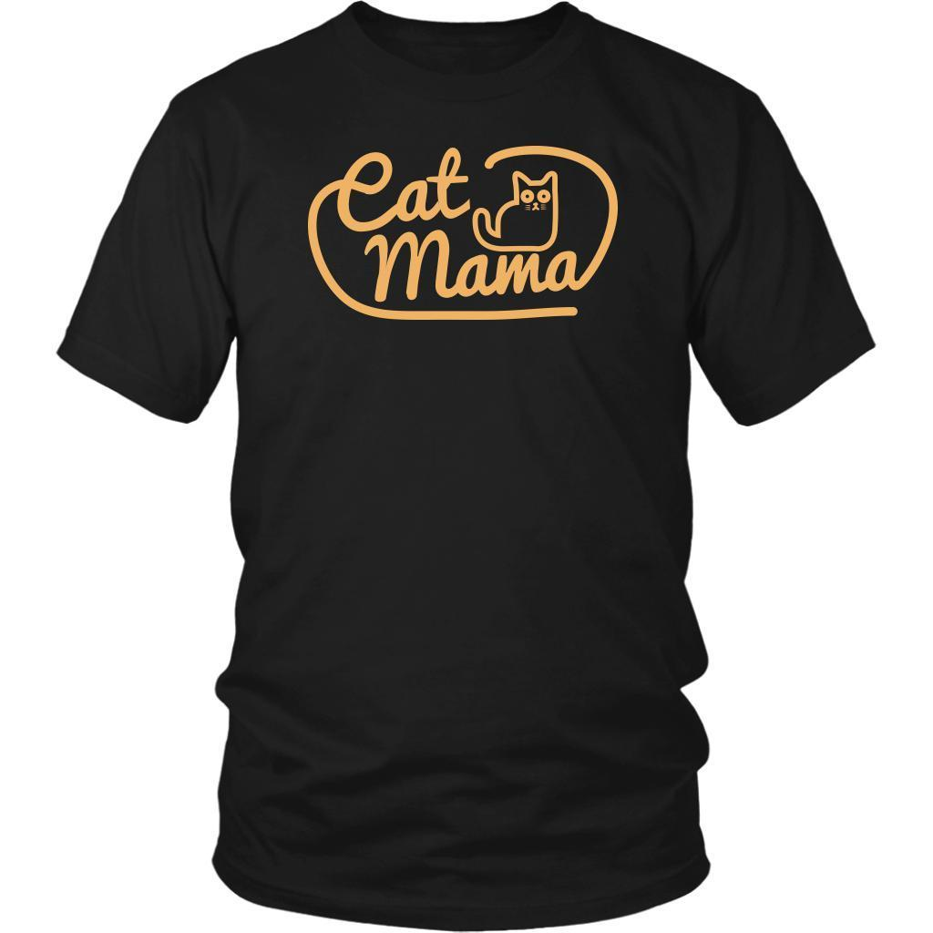 Cat Mama Awesome Cute Funny Kitten Lovers Kitty Obsessed Gift Ideas TShirt-NeatFind.net