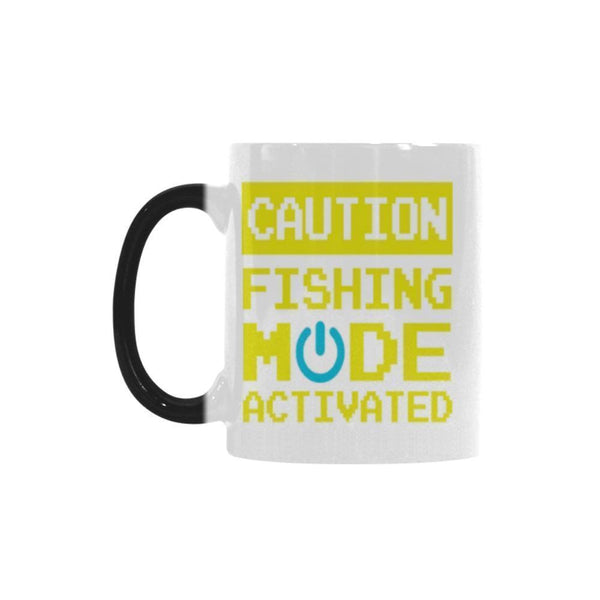 Caution Fishing Mode Activated V2 Color Changing/Morphing 11oz Mug-NeatFind.net