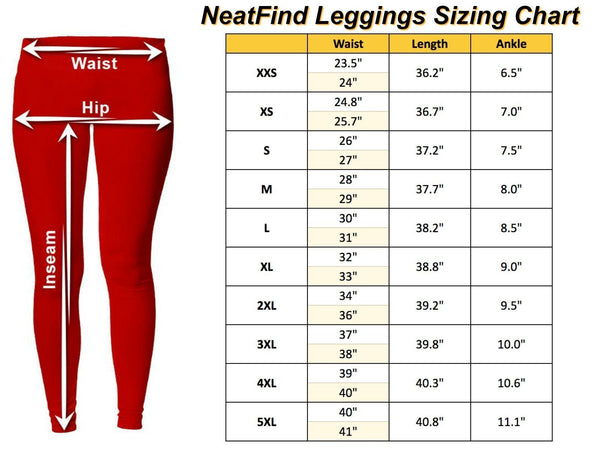 Cow Low Rise Leggings For Women-NeatFind.net