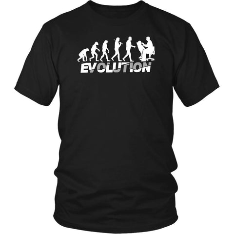 Dentist Evolution Awesome Humor Dental Hygienist Unique Funny Gift Ideas TShirt-NeatFind.net