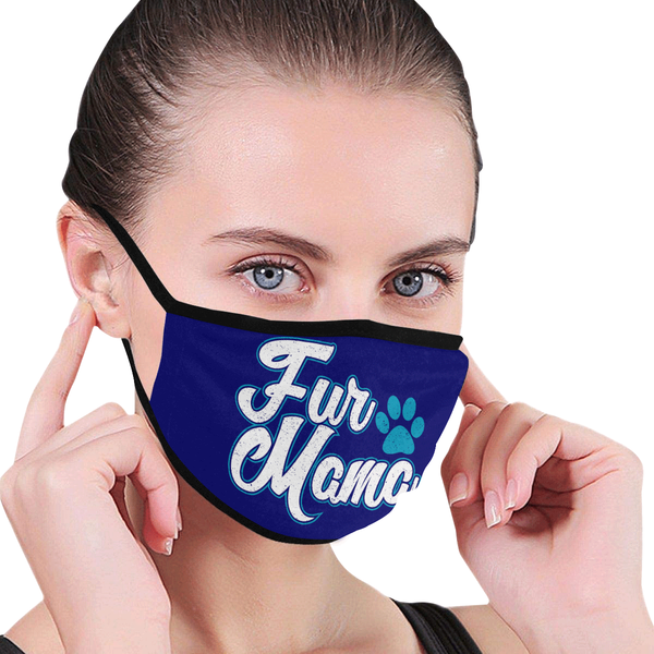 Dog Fur Mama Funny Washable Reusable Cloth Face Mask With Filter Pocket-Face Mask-NeatFind.net