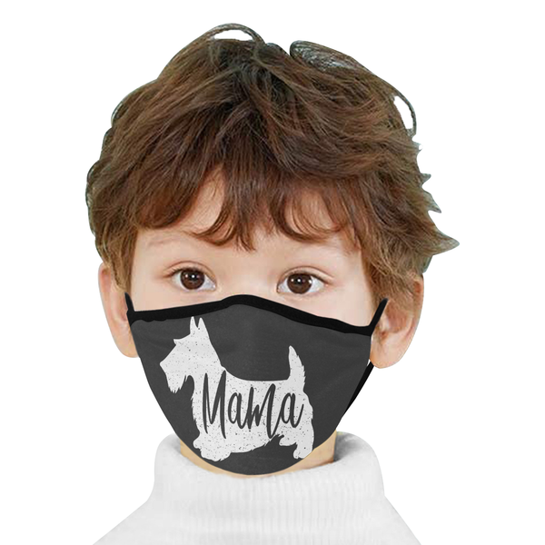 Dog Mama Funny Washable Reusable Cloth Face Mask With Filter Pocket-Face Mask-NeatFind.net