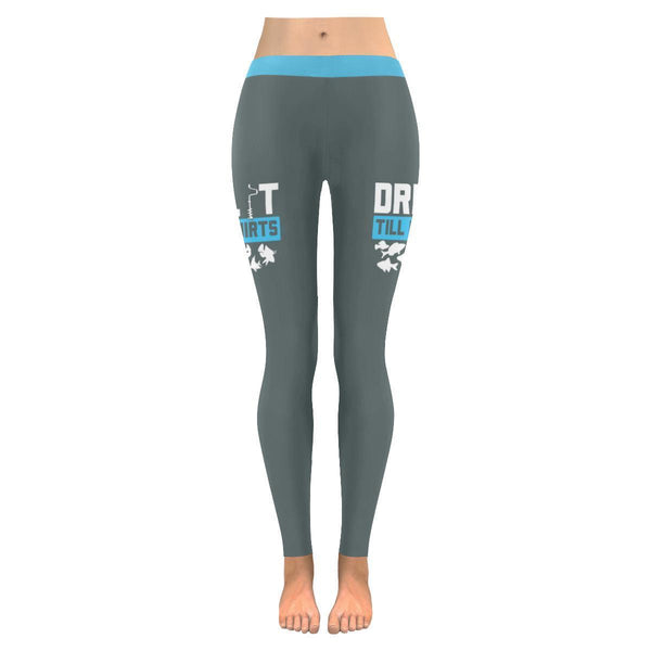 Drill It Till It Squirts V2 Low Rise Leggings For Women (3 colors)-NeatFind.net
