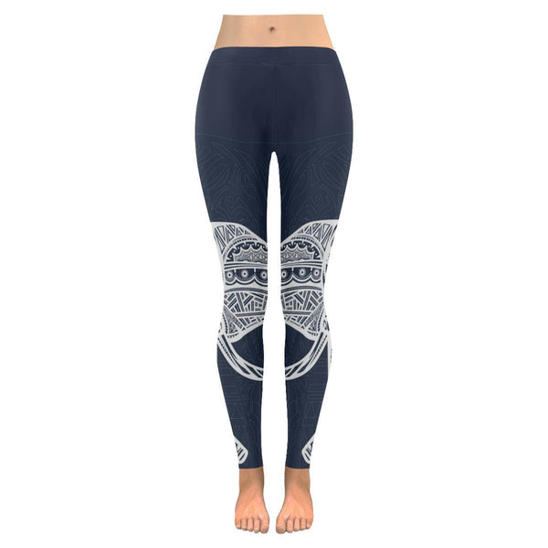 Elephant Low Rise Leggings For Women (2 colors)-NeatFind.net