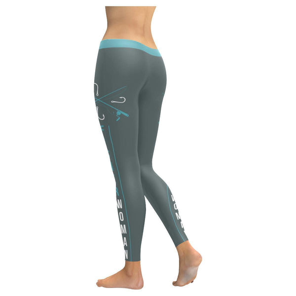Fisherwoman Low Rise Leggings For Women (3 colors)-NeatFind.net