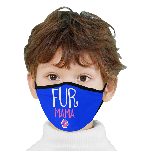 Fur Mama Funny Cat Lovers Washable Reusable Cloth Face Mask With Filter Pocket-Face Mask-NeatFind.net