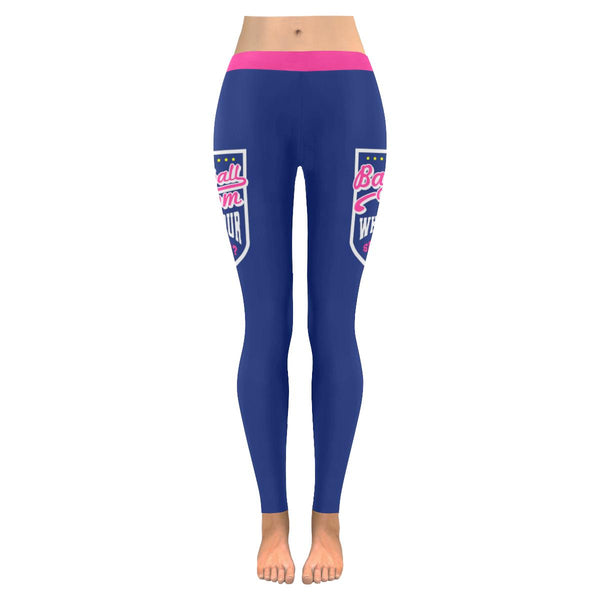 I Am A Baseball Mom Whats Your Superpower Funny Unique Gift Idea Womens Leggings-NeatFind.net