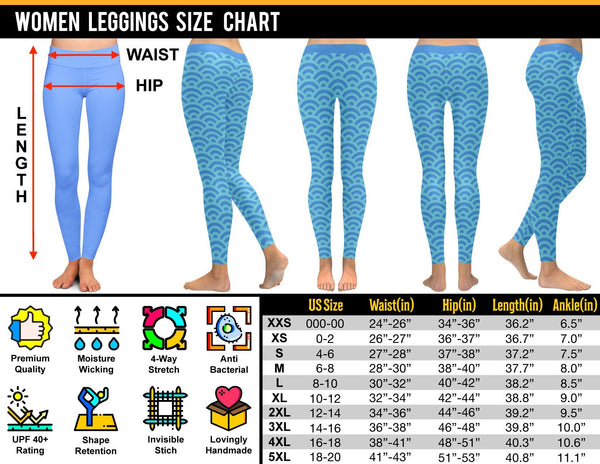 I Back The Blue Police UPF40+ Moisture Wicking Non See Through Womens Leggings-NeatFind.net