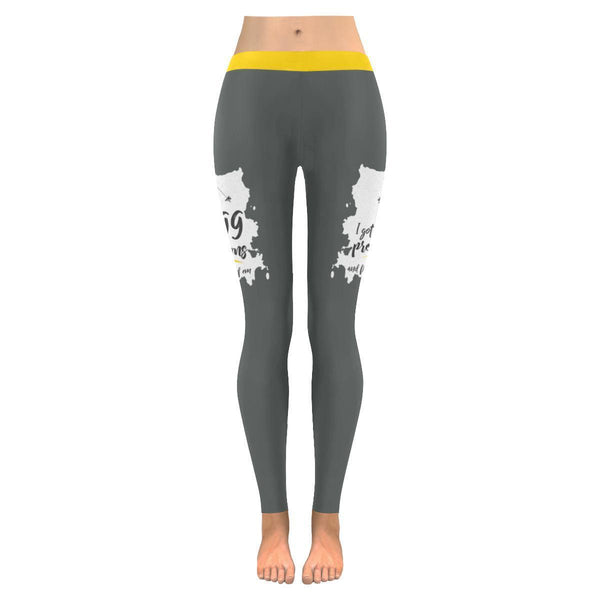 I Got 99 Problems And Fishin' Solves All Of Em V2 Low Rise Leggings For Women (3 colors)-NeatFind.net