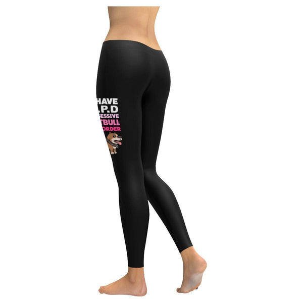 I Have O.P.D. Obsessive Pitbull Disorder Soft Breathable UPF40+ Womens Leggings-NeatFind.net