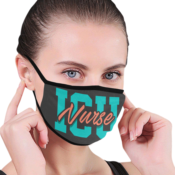 ICU Nurse Washable Reusable Cloth Face Mask With Filter Pocket-Face Mask-NeatFind.net