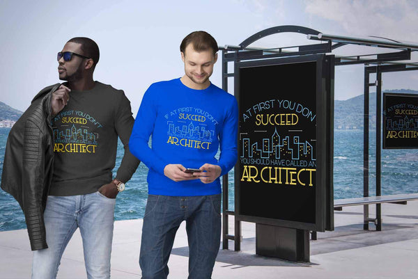 If At First You Dont Succeed You Should Have Called An Architect Funny Sweater-NeatFind.net