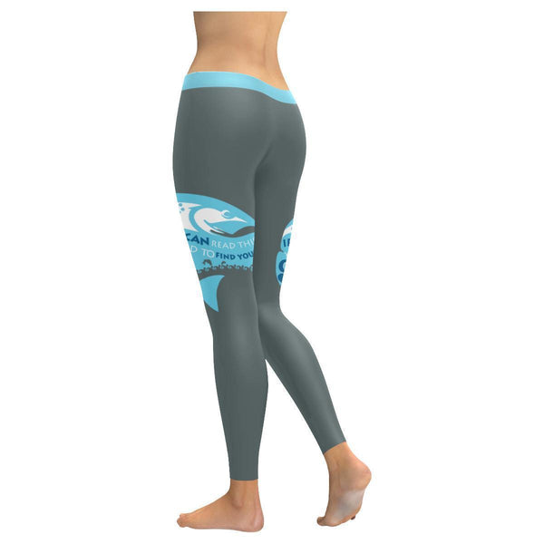 If You Can Read This You Need To Find Your Own Spot V2 Low Rise Leggings For Women (3 colors)-NeatFind.net