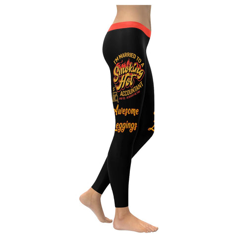 Im Married To A Smoking Hot Accountant & Yes He Bought Me This Awesome Leggings-NeatFind.net