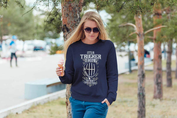 It's A Trucker Thing You Won't Understand Practical Funny Gifts Sweater For Men-NeatFind.net