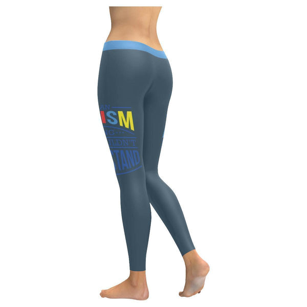 Its An Autism Thing You Wouldnt Understand Spectrum Disorder Gift Women Leggings-NeatFind.net