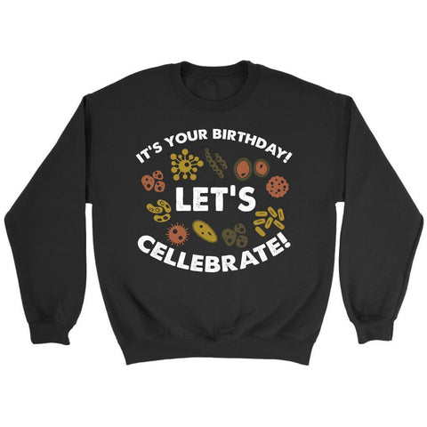 Its Your Birthday Lets Cellebrate Funny Science Biologist Gift Ideas Sweater-NeatFind.net