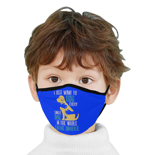Just Want To Hug Every Single Dog Washable Reusable Cloth Face Mask With Filter-Face Mask-NeatFind.net