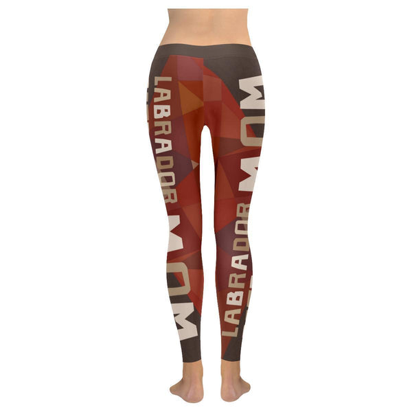 Labrador Retriever Mom Classic Breathable UPF40 Moisture Wicking Womens Leggings-NeatFind.net