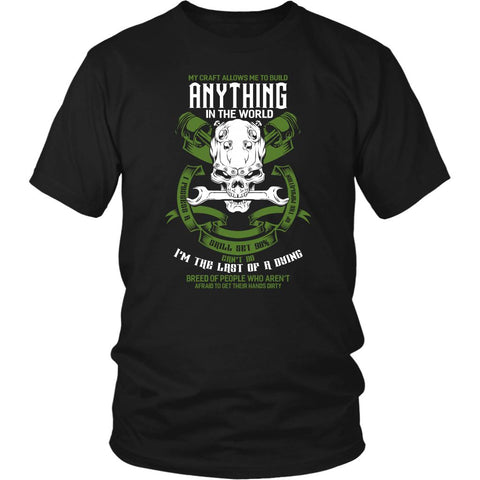Last Dying Breed Of People Who Arent Afraid To Get Their Hands Dirty Funny Shirt-NeatFind.net