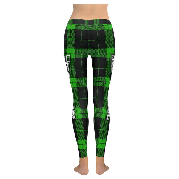 Love Basketball Go Boston Fan Plaid Checkered Soft UPF40+ Womens Leggings-NeatFind.net
