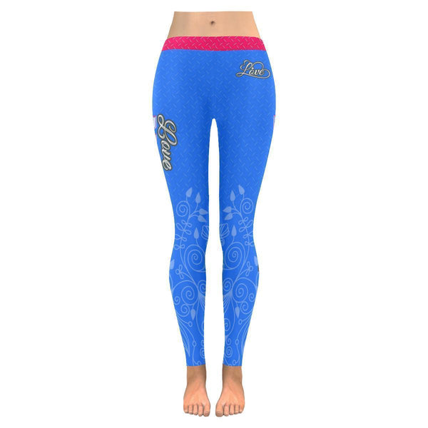 Love Basketball Go Detroit Fan Diamond Plate Soft UPF40+ Womens Leggings-NeatFind.net