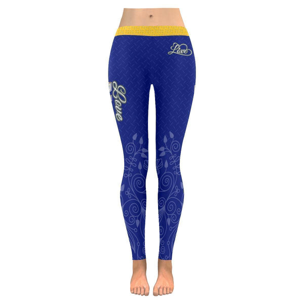Love Basketball Go Indiana Fan Diamond Plate Soft UPF40+ Womens Leggings-NeatFind.net