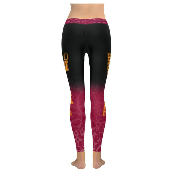 Love Basketball Go Miami Fan Gradient Color Dye Soft UPF40+ Womens Leggings-NeatFind.net